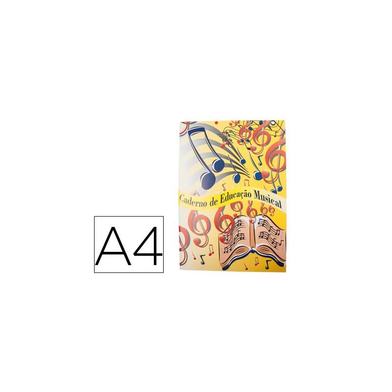 Caderno de musica din a4...