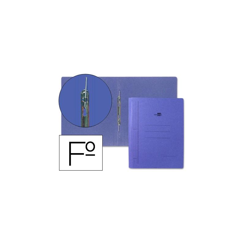 Capa de cartolina azul,...