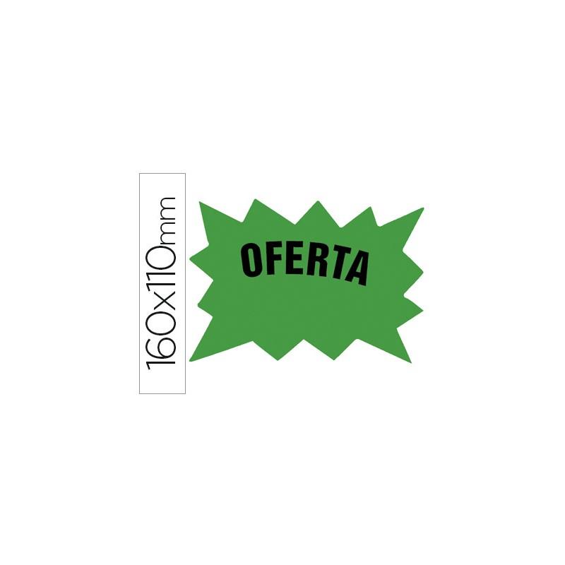 Etiqueta cartolina verde...