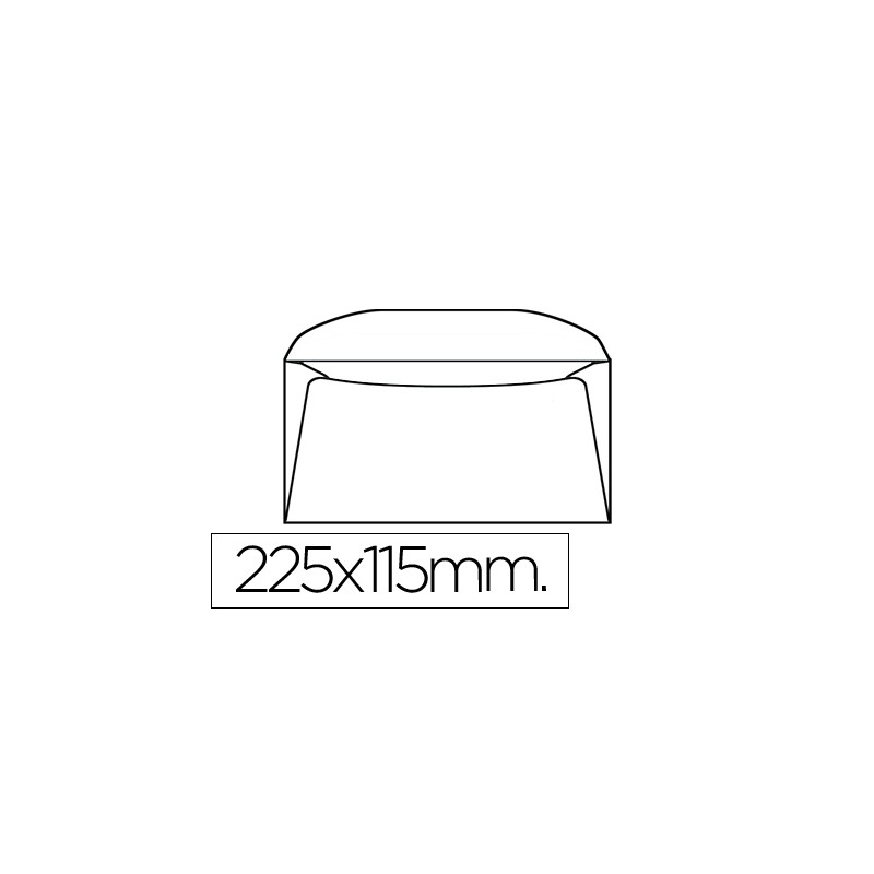 Envelope 155x225mm s/janela...