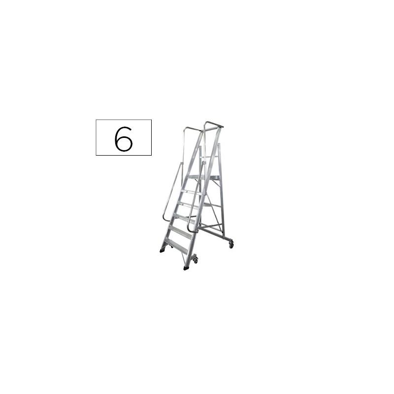 Escada ktl de aluminio com...