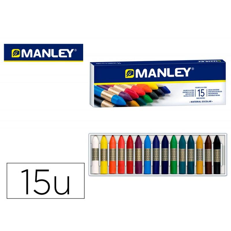 Lapis cera manley 15 cores