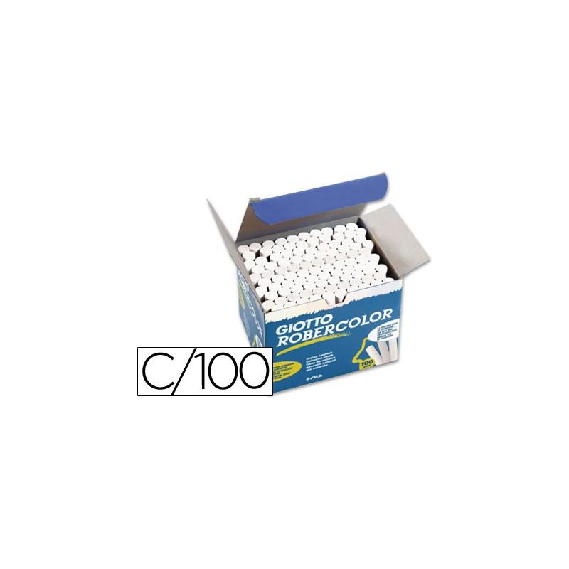 Giz robercolor branco caixa...