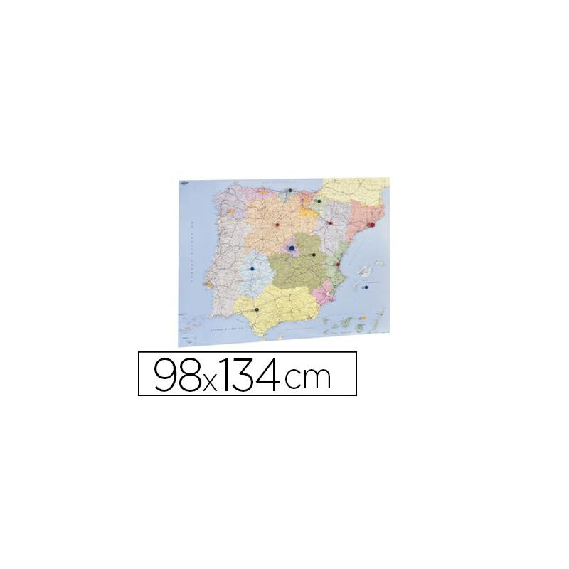 Mapa parede faibo espanha e...