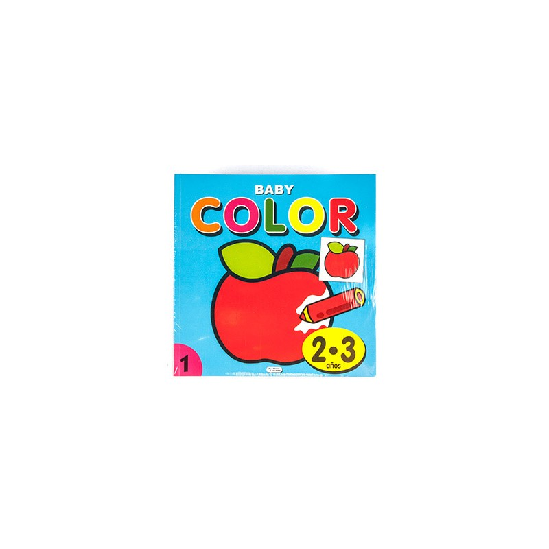 Cuaderno de colorear baby...
