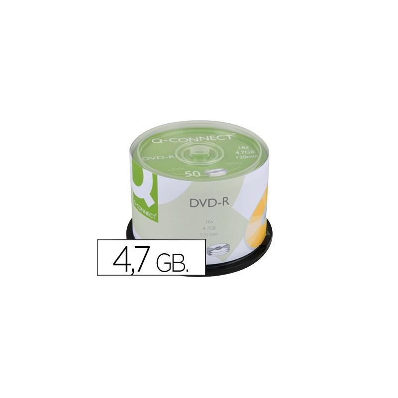 Dvd-r q-connect capacidade...