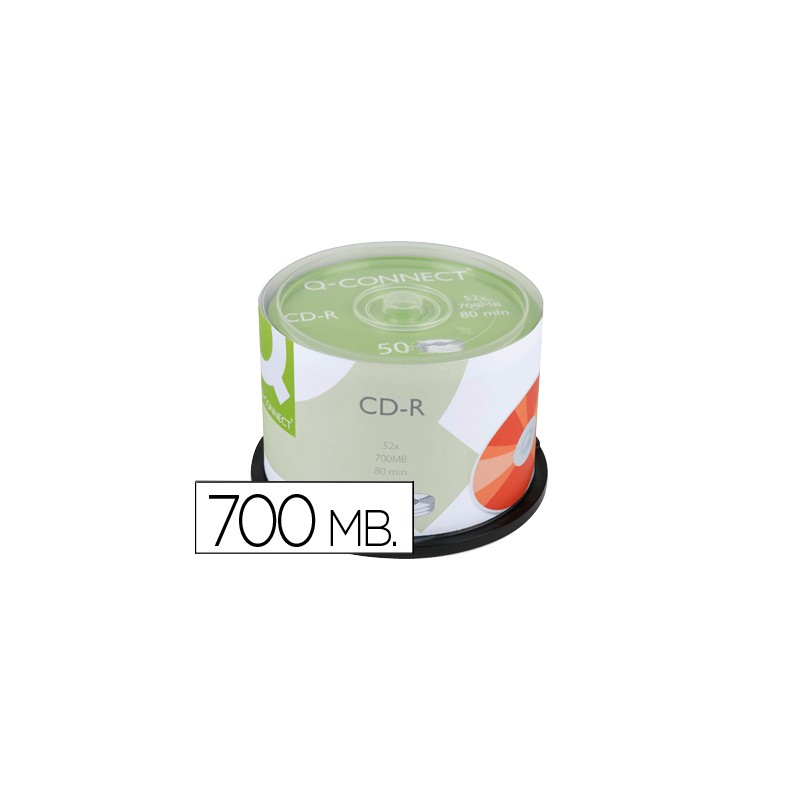 Cd-r q-connect capacidade...