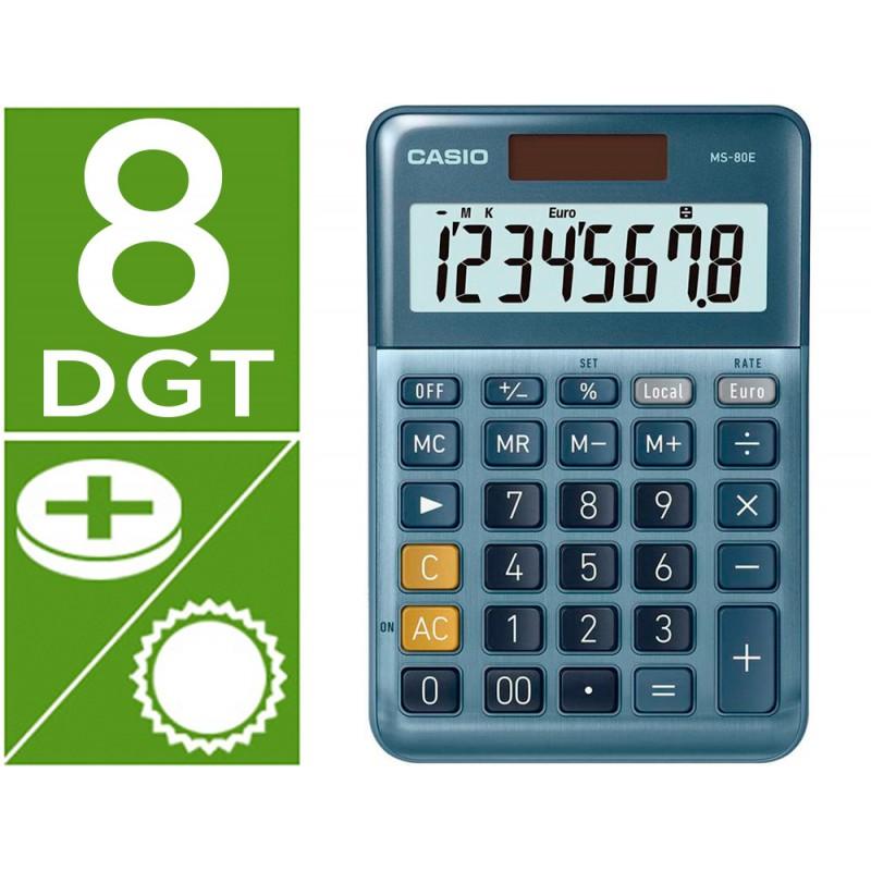 Calculadora casio ms-80e...