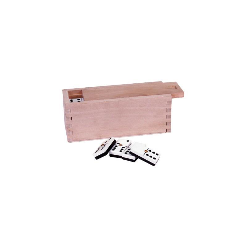 Domino master caixa de madeira